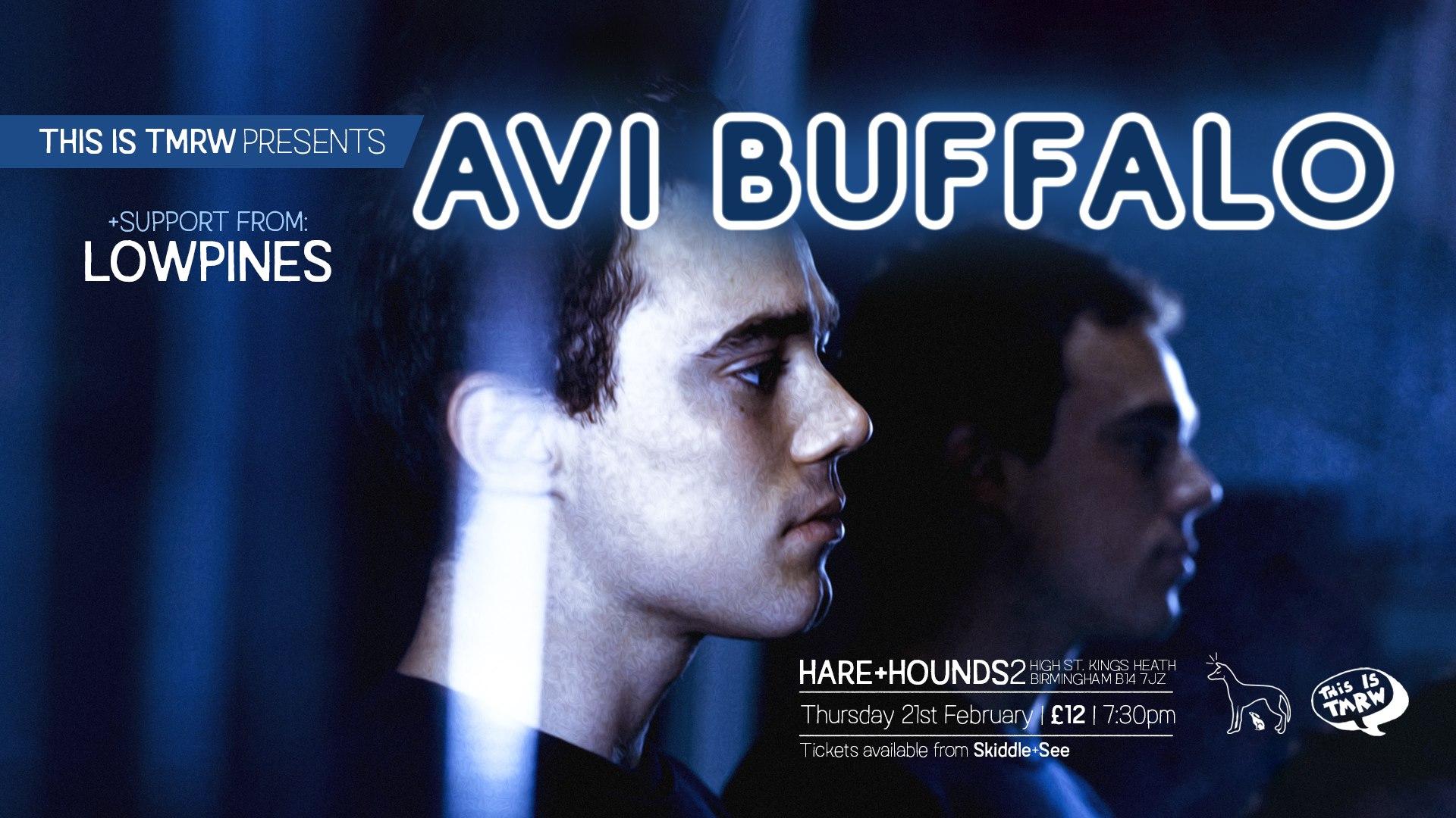 Avi Buffalo/Lowpines/A Bull – Birmingham Hare & Hounds, 21/02/2019