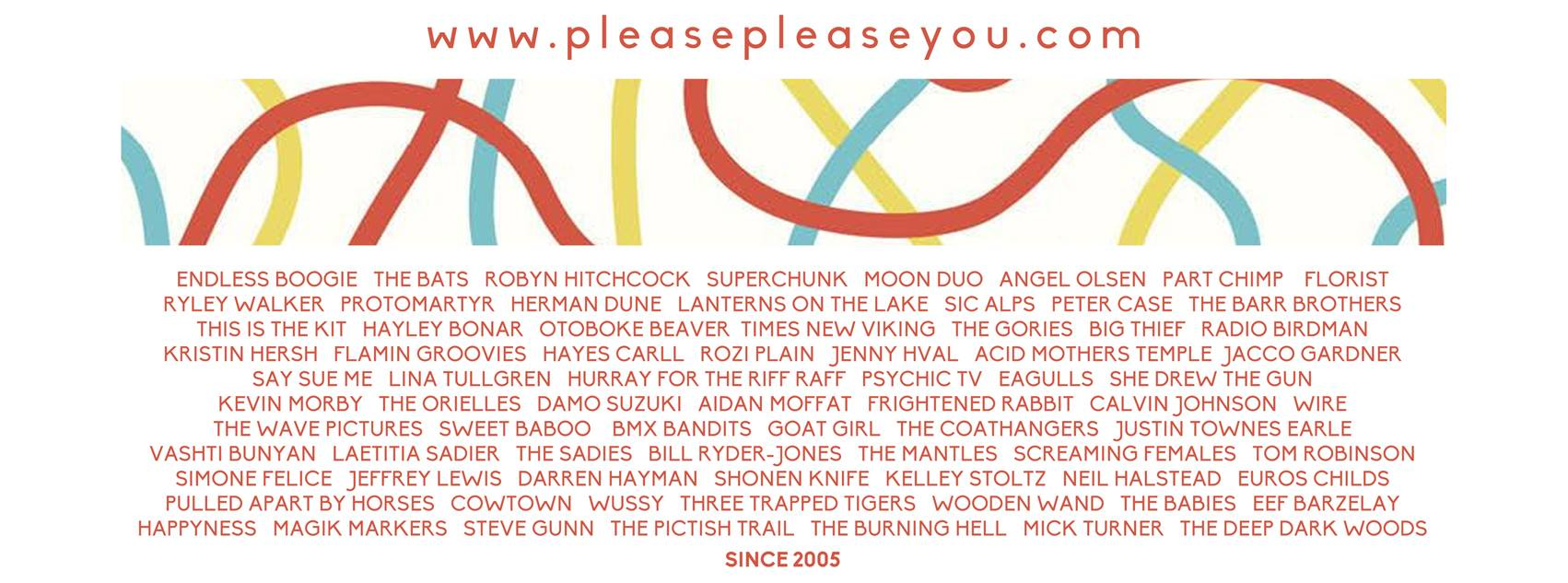 PREVIEW: forthcoming gigs from Please Please You