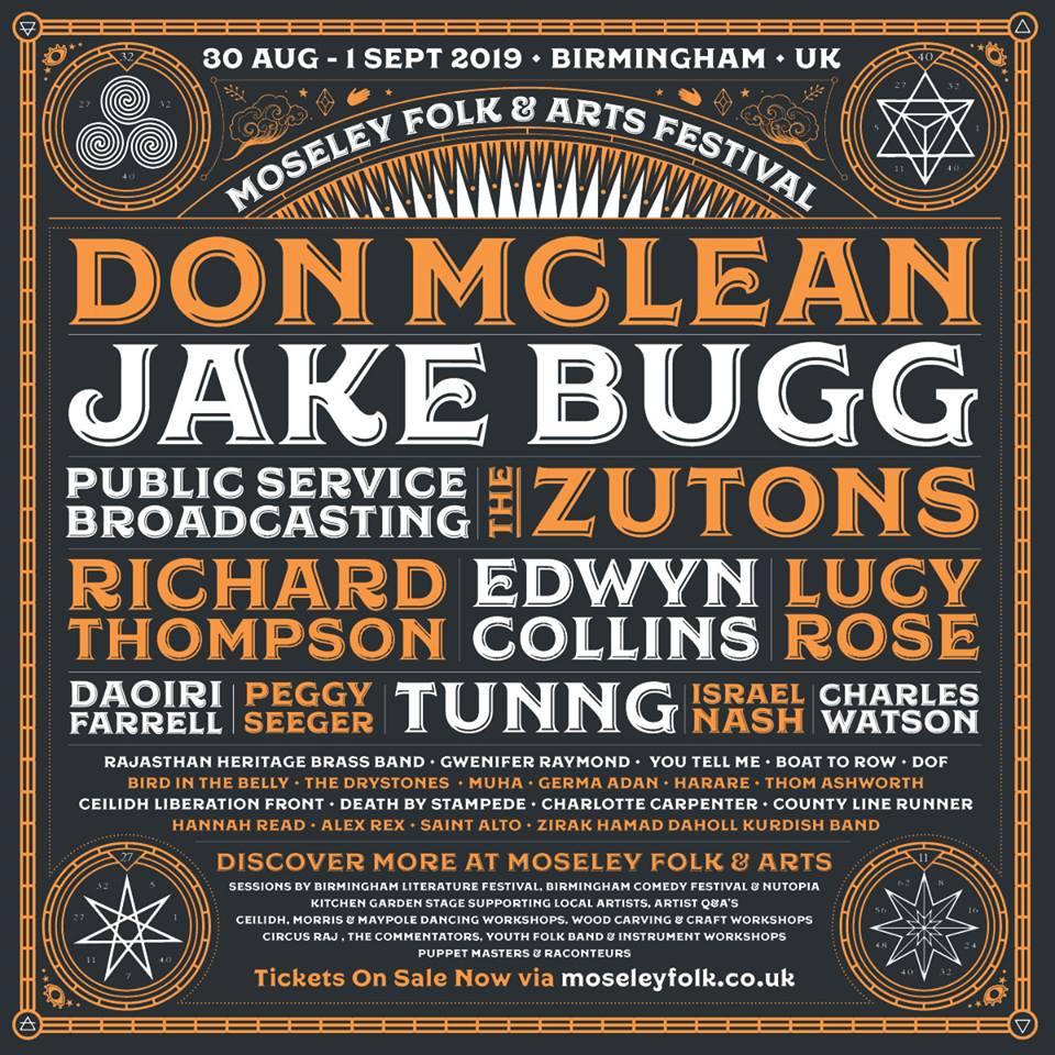 PREVIEW: Moseley Folk & Arts Festival 2019