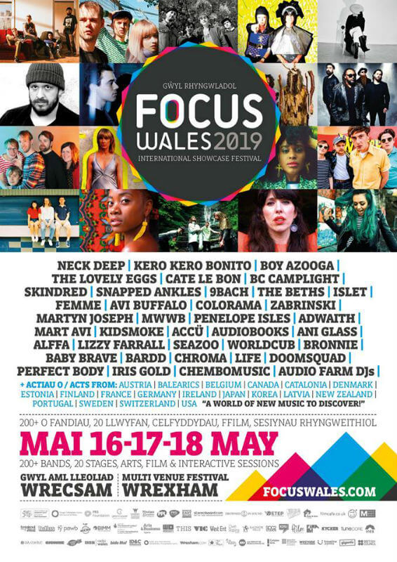PREVIEW – Focus Wales 2019, Wrexham 16-18 May