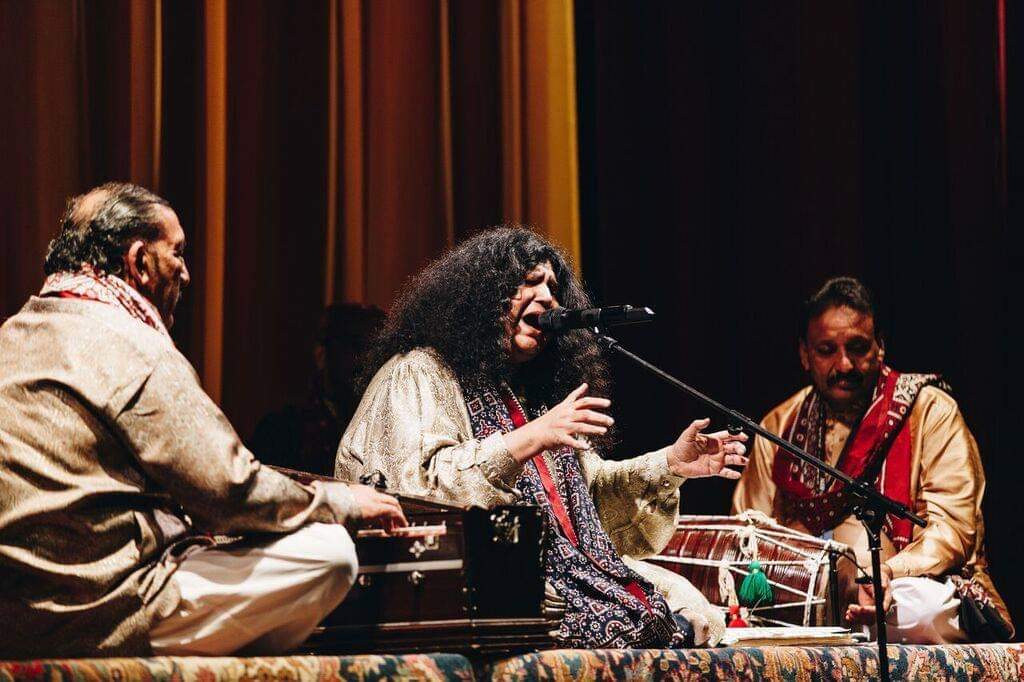 Abida Parveen ft. Nahid Siddiqi – Lyric Theatre, The Lowry, Salford (Manchester International Festival), 05/07/2019