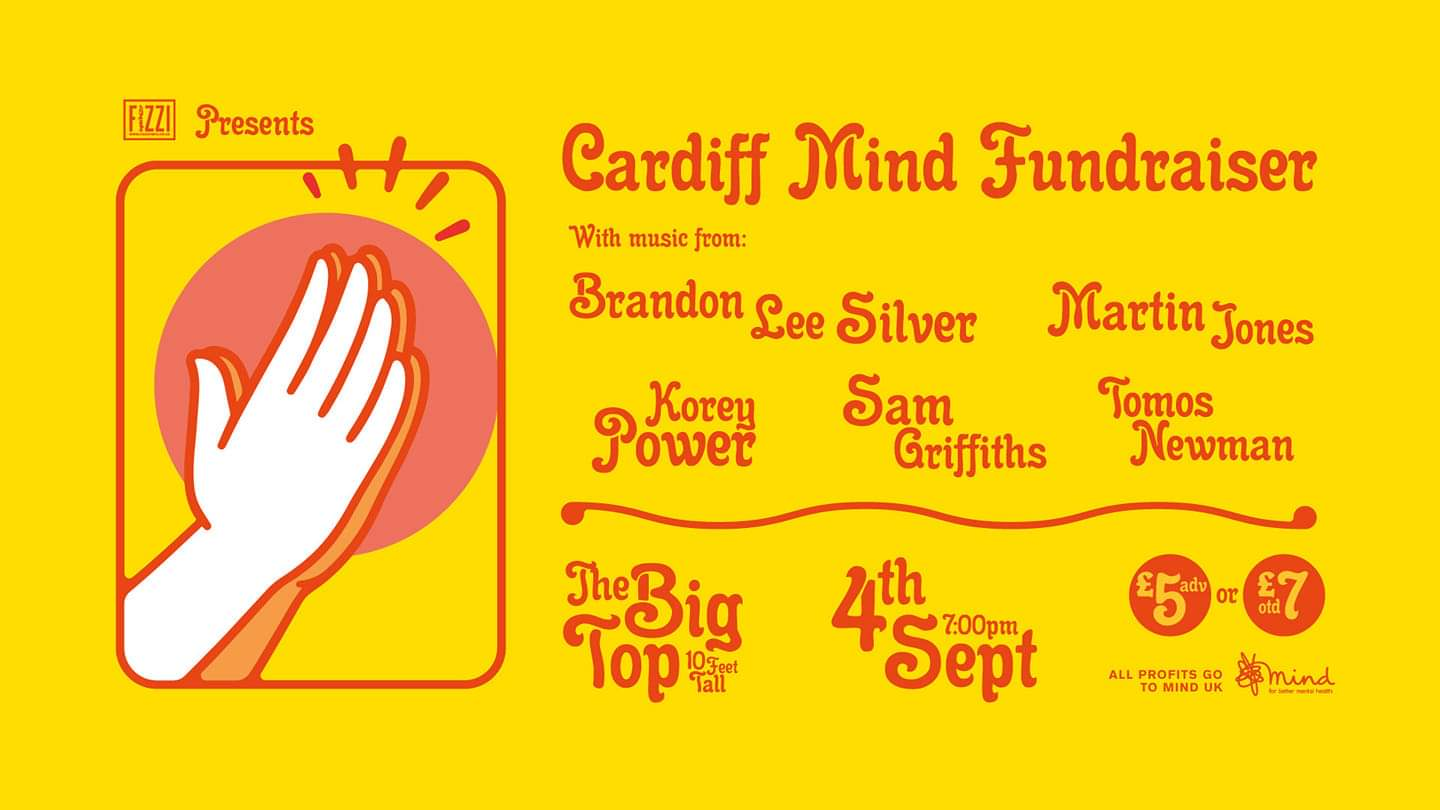 Cardiff Mind Fundraiser – The Big Top, Cardiff, 04/09/2019