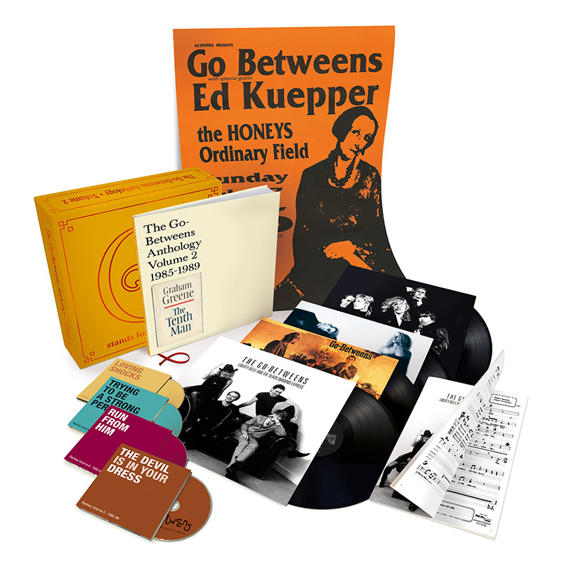 NEWS: 'G Stands For Go-Betweens Volume 2' Boxset announced