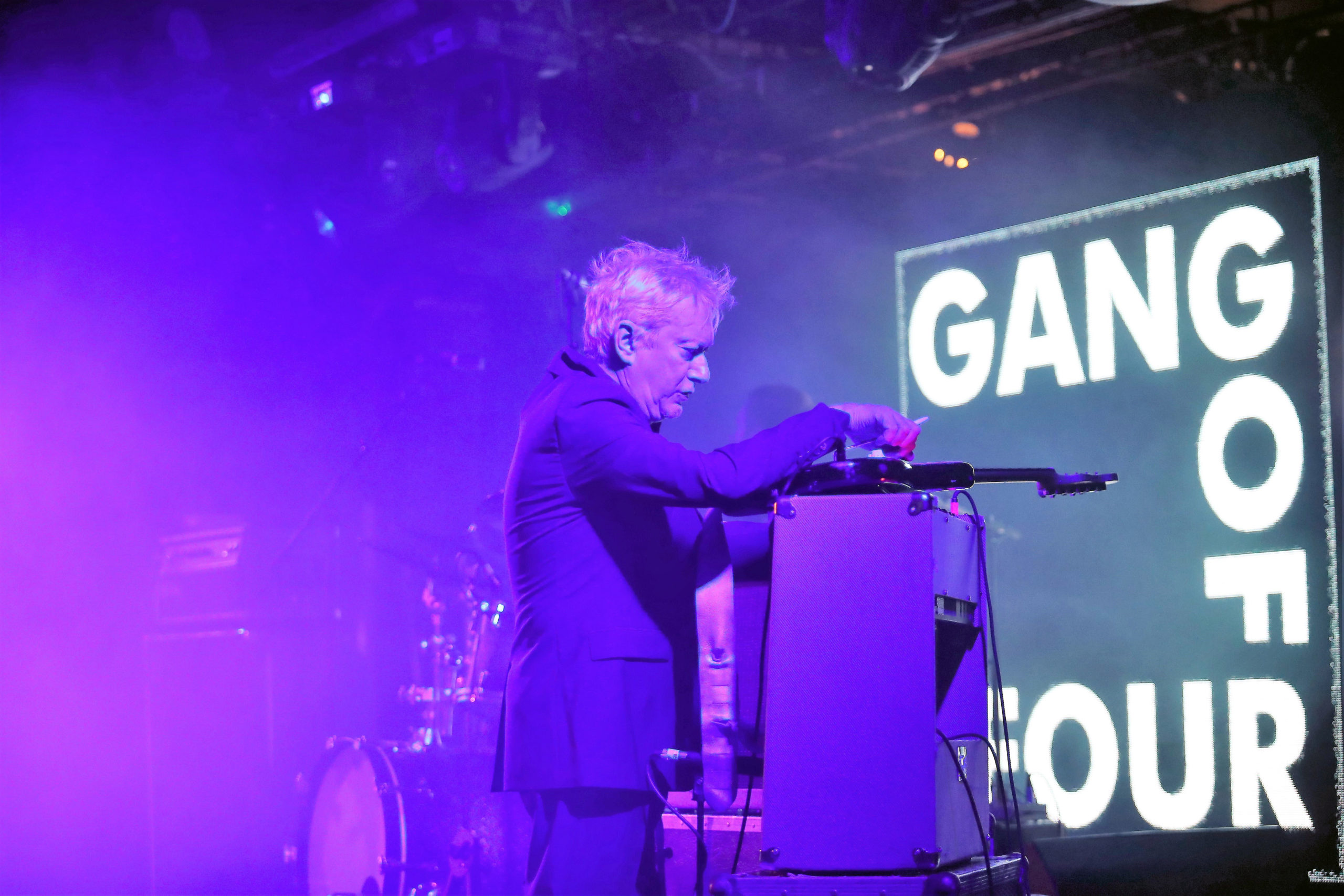 TRIBUTE IN PICTURES: Andy Gill (Gang of Four)