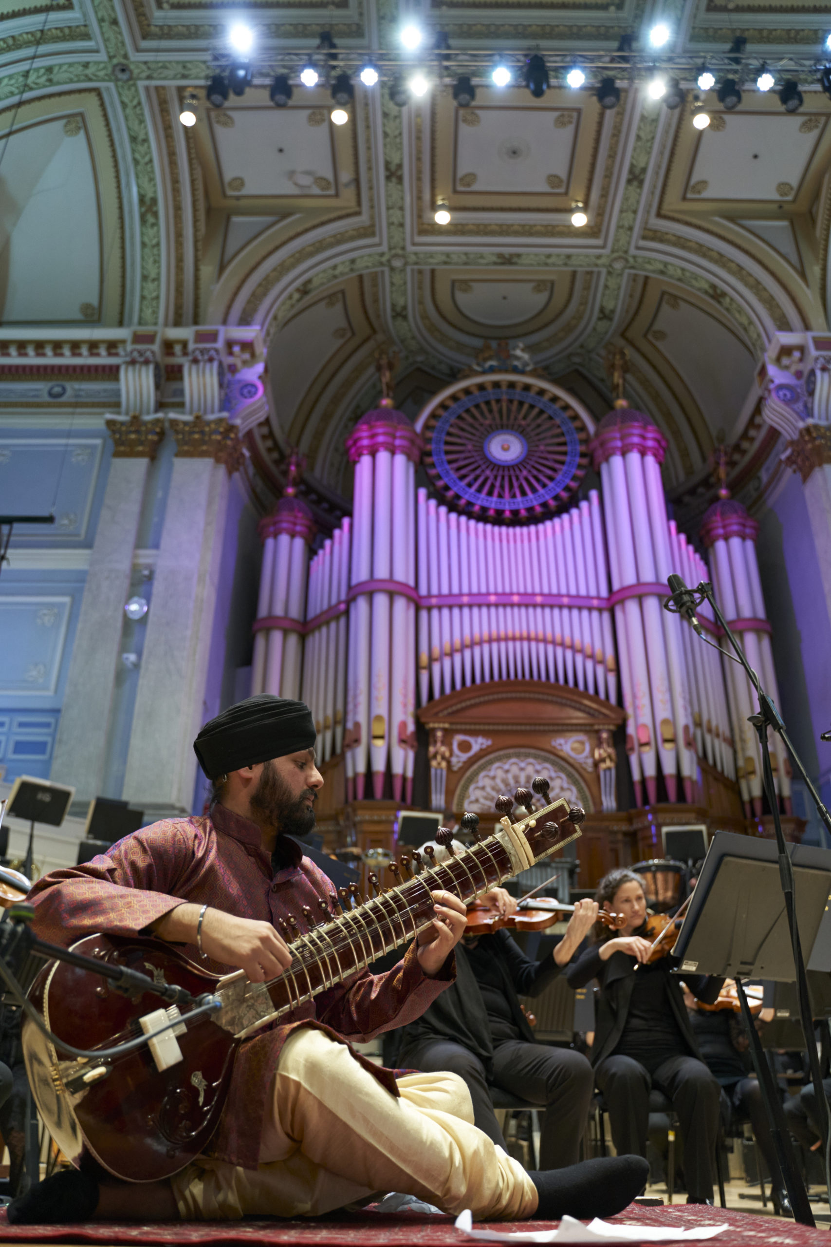 Arya: Concerto for sitar and orchestra – Huddersfield Town Hall, 23/02/2020