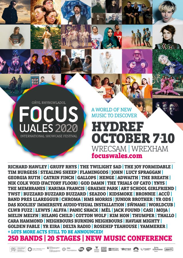 NEWS: FOCUS Wales 2020 rescheduled dates and new line-up announced