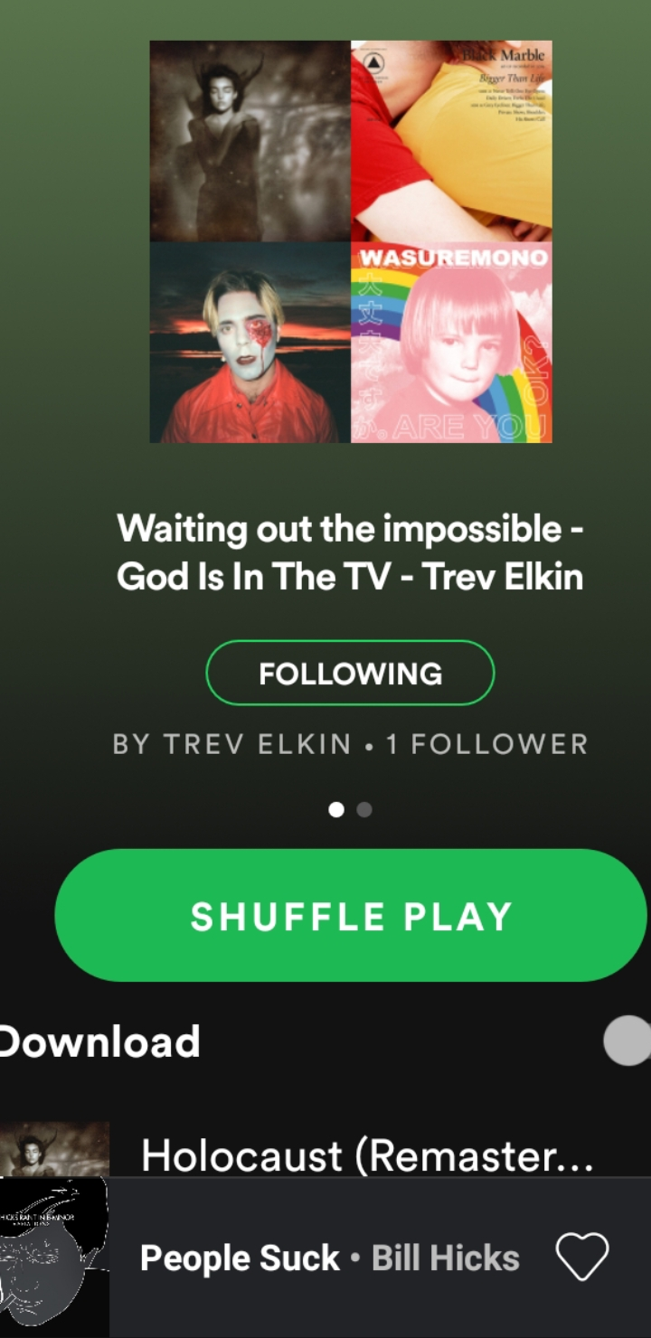 PLAYLIST: Waiting out the impossible