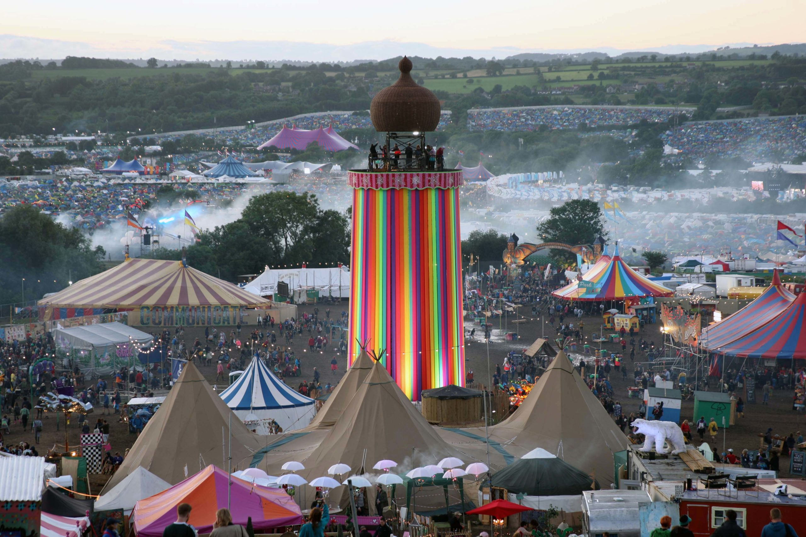 In Camera: Glastonbury Festival