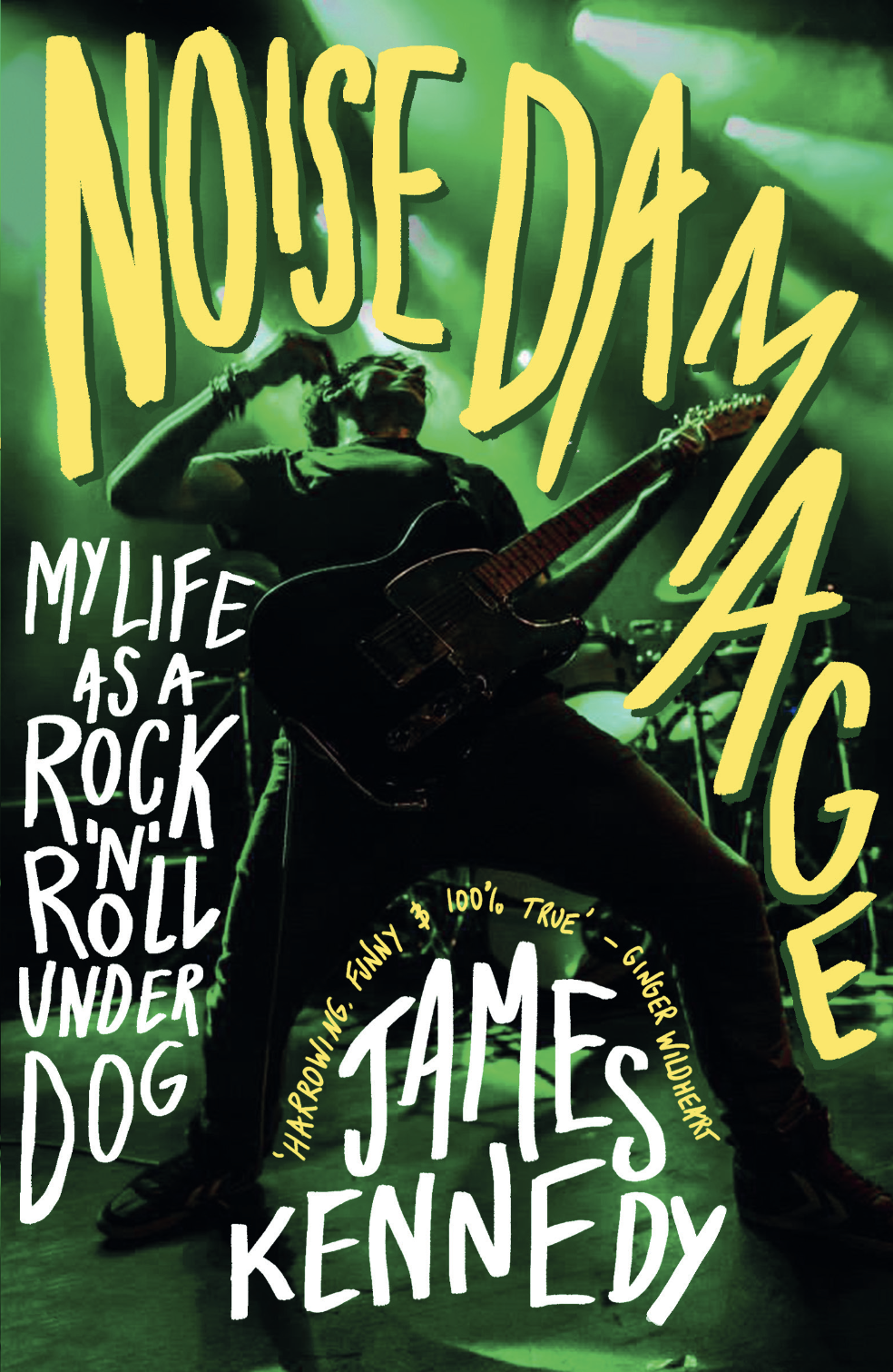 James Kennedy captures the experience of playing live in exclusive chapter 'WHY WE DO IT?' from his new book 'Noise Damage'