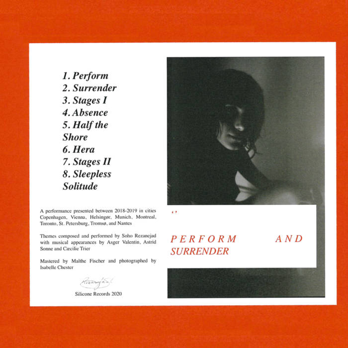 Soho Rezanejad – Perform And Surrender (Silicone Records)