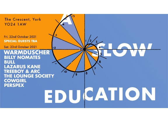 NEWS: A Slow Education party at The Crescent in York in October