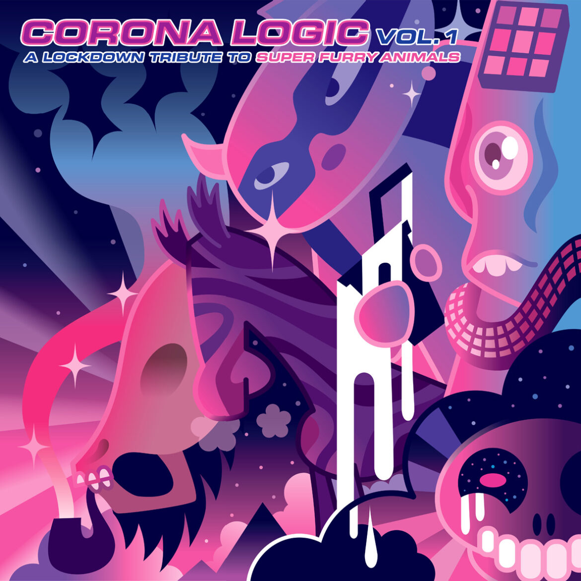 NEWS: Corona Logic: 28-track Super Furry Animals covers album announced in aid of Llamau