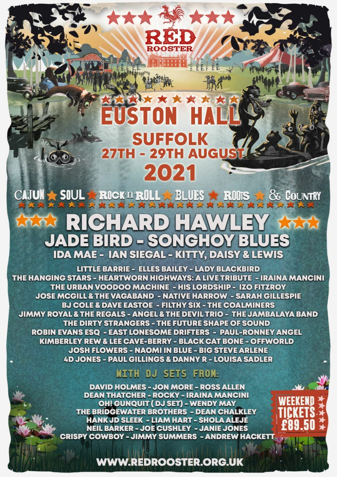 NEWS: Red Rooster Festival announces its full line-up for 2021
