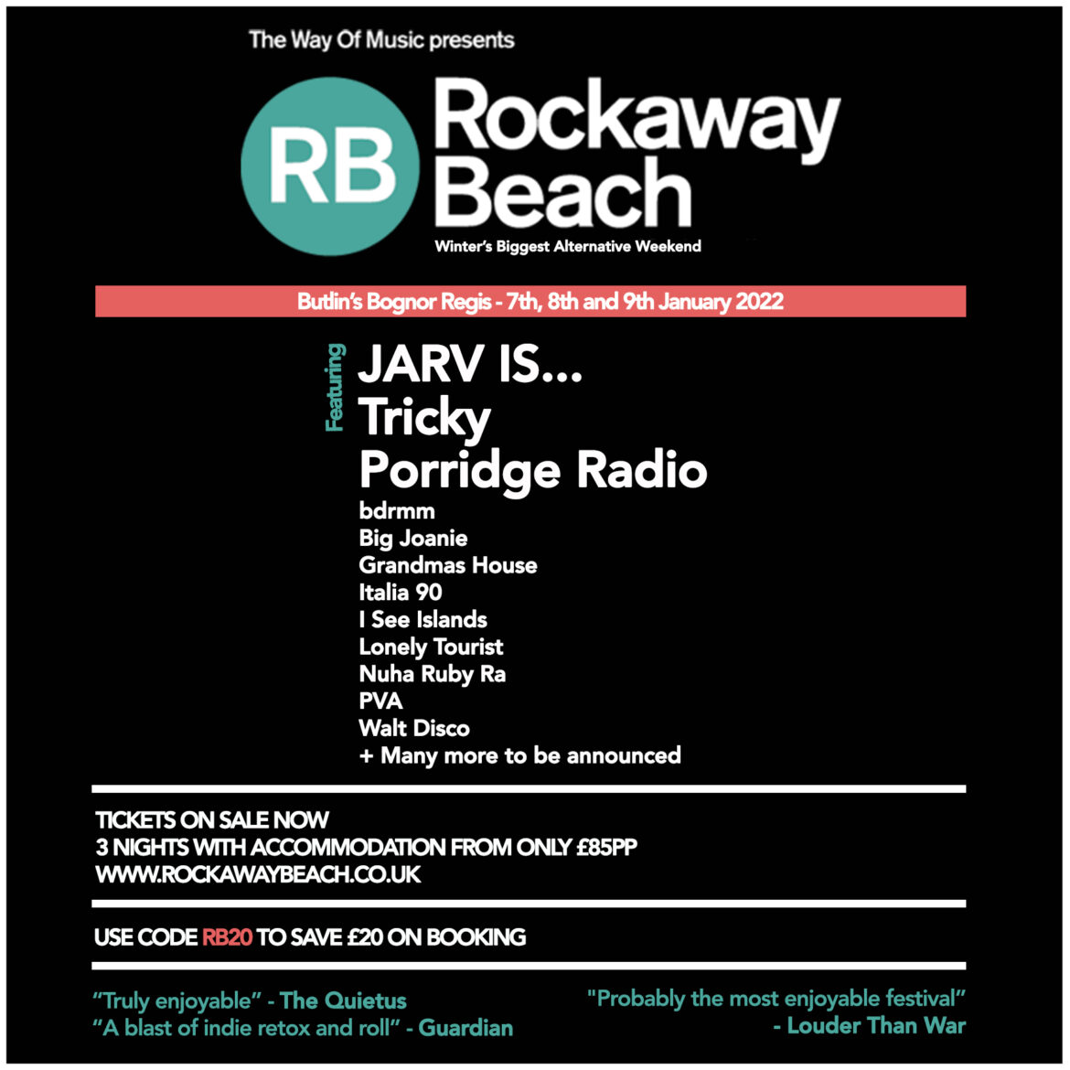 NEWS: Rockaway Beach 2022 headliners announced