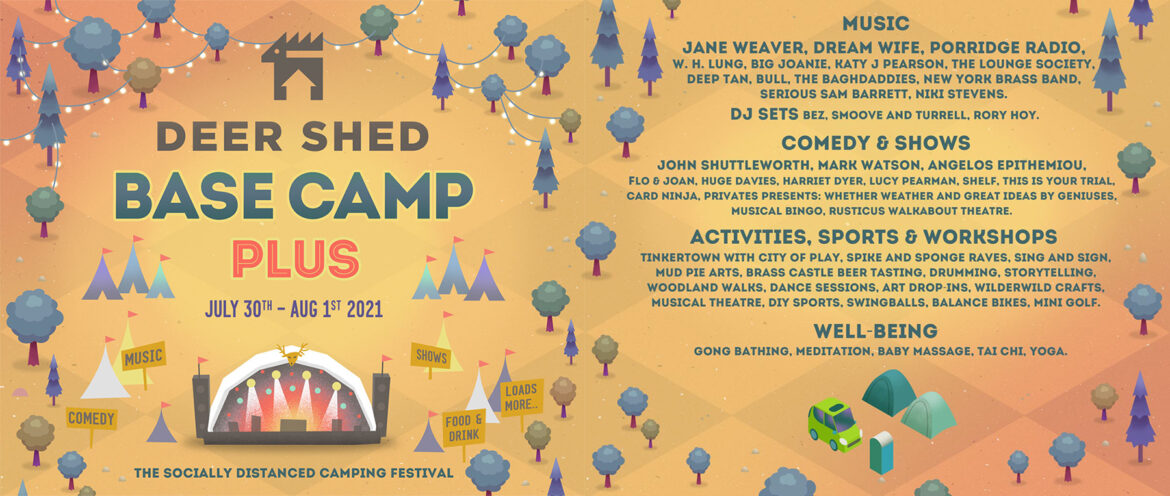 NEWS: details announced for Deer Shed: Base Camp Plus