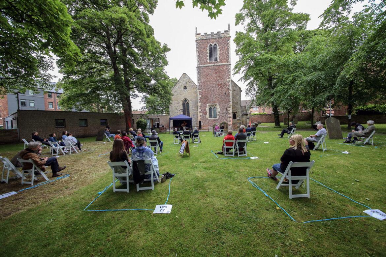 Songs Under Skies: Josh Burnell + Katie Spencer – St. Margaret's Church, York, 14/07/2021