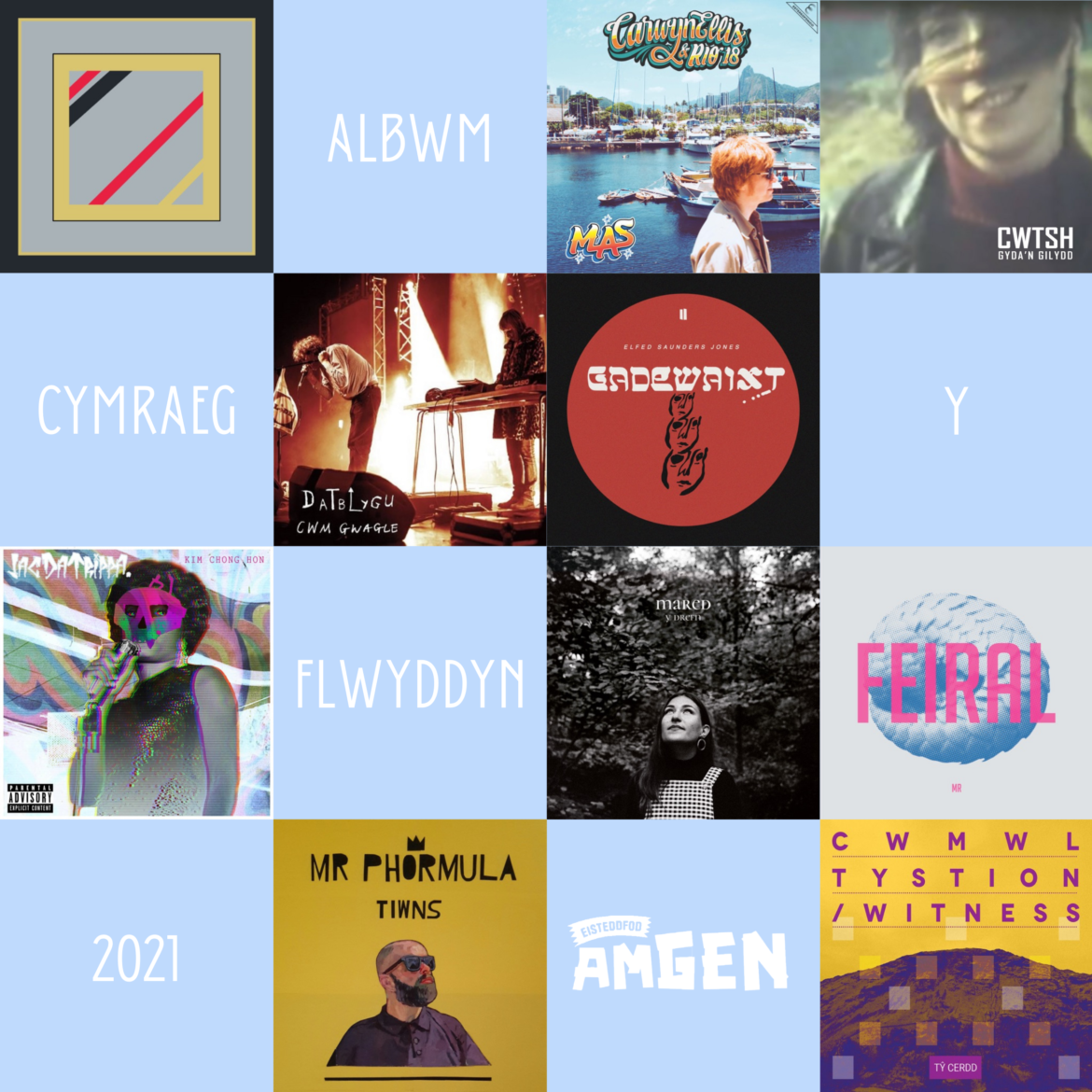 Welsh Language Album Of The Year 2021 Shortlist Announced