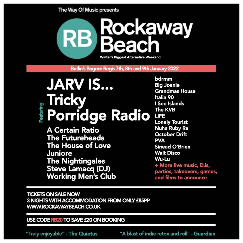 NEWS: More artists announced for Rockaway Beach 2022