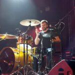 The drummer John Newton from band JOHN