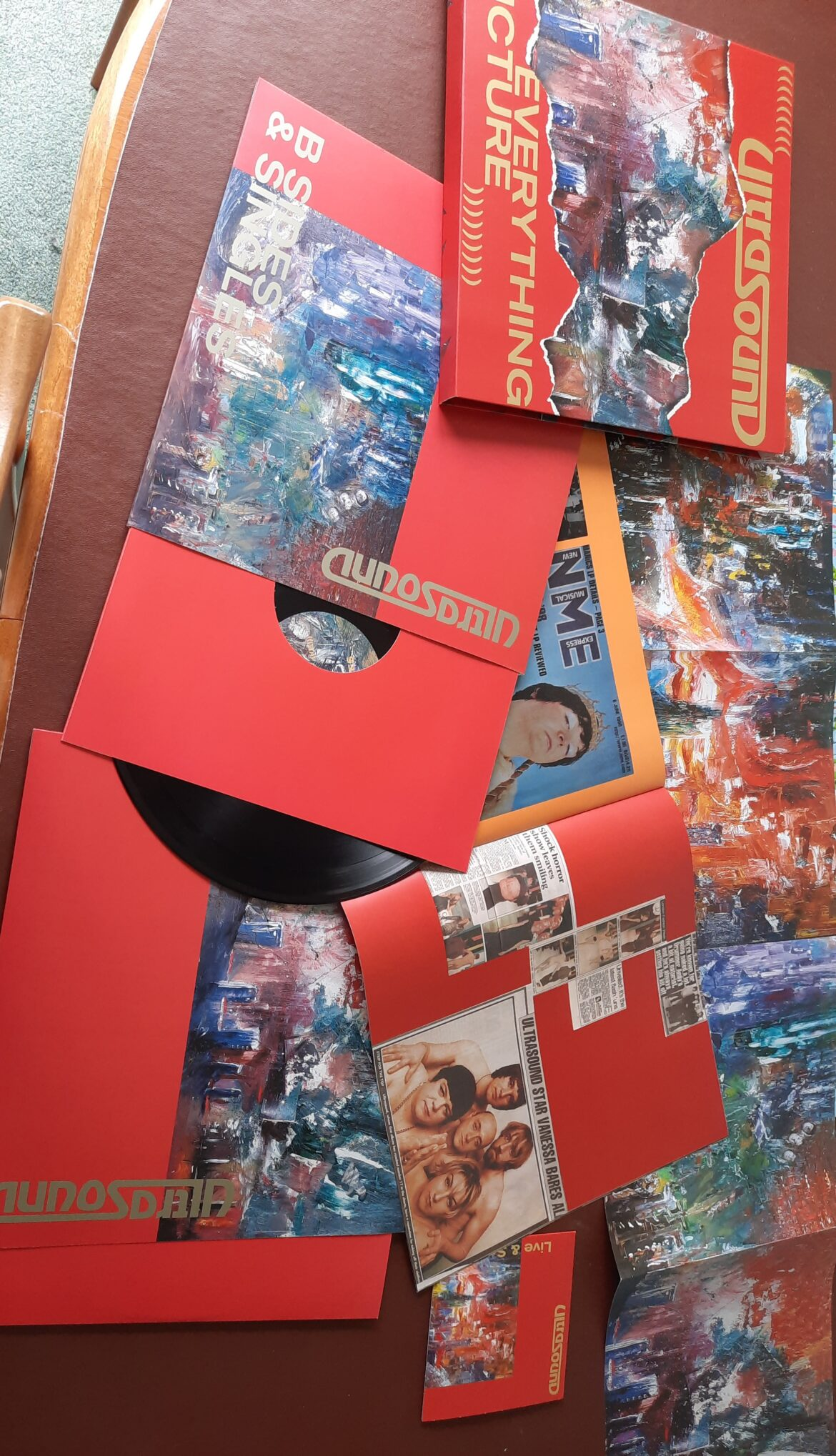 Ultrasound – Everything Picture (Vinyl Re-issue / Boxset, One Little Independent)