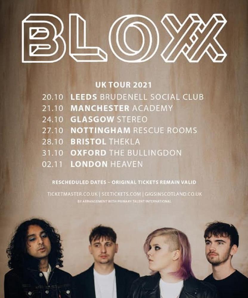 Bloxx / The Rills / Emma McGrath – Manchester Academy 3, 21/10/2021